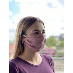 Маска для обличчя захисна багаторазова Барвиста Вишиванка, 100% льон , 22х14х8 см МА002лП2201_019