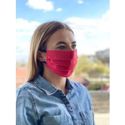 Маска для обличчя захисна багаторазова Барвиста Вишиванка, 100% льон , 22х14х8 см МА002лП2201_022