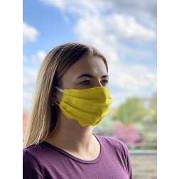 Маска для обличчя захисна багаторазова Барвиста Вишиванка, 100% льон , 22х14х8 см МА002лЖ2201_009