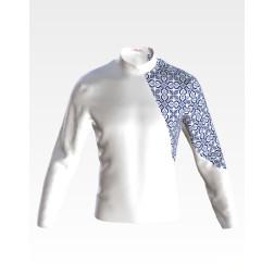 Набір бісеру Preciosa для вишивки бісером до заготовки чоловічої сорочки – вишиванки Відродження ЧЕ050дБнн07b