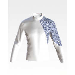 Заготовка чоловічої сорочки – вишиванки для вишивки бісером Відродження ЧЕ050кБнн07