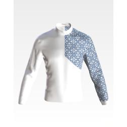 Заготовка чоловічої сорочки – вишиванки для вишивки бісером і нитками Відродження ЧЕ051дБнн07