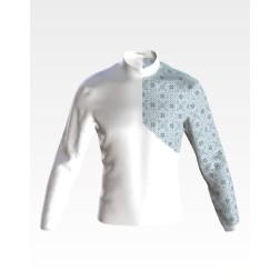 Заготовка чоловічої сорочки – вишиванки для вишивки бісером Феєрія ЧЕ052кБнн07