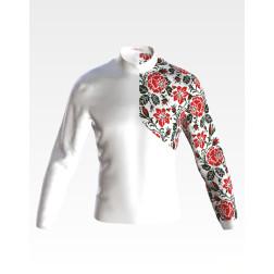 Заготовка чоловічої сорочки – вишиванки для вишивки бісером і нитками Подарунок долі ЧЕ057дБнн07
