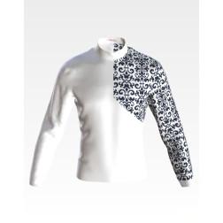 Заготовка чоловічої сорочки – вишиванки для вишивки бісером і нитками Зорепад ЧЕ059дБнн07