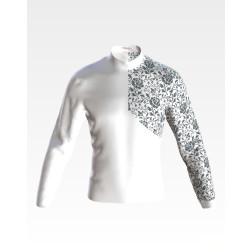 Заготовка чоловічої сорочки – вишиванки для вишивки бісером і нитками Галичанка ЧЕ060дБнн07