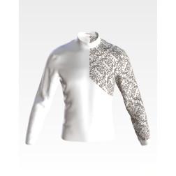 Заготовка чоловічої сорочки – вишиванки для вишивки бісером і нитками Подолянка ЧЕ062дБнн07
