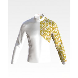 Набір бісеру Preciosa для вишивки бісером до заготовки чоловічої сорочки – вишиванки Листопад ЧЕ064дБнн07b