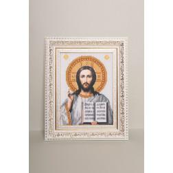 Картина вишита бісером Барвиста Вишиванка  Господь Вседержитель 25х30 ОТ042ан1622