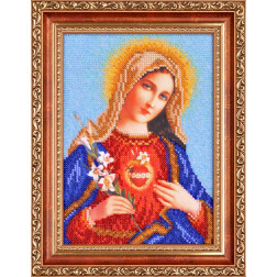 Ікона Відкрите Серце Марії ОТ089ан1622