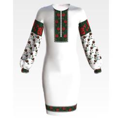 Заготовка дитячого плаття на 9-12 років Борщівська для вишивки бісером ПД058кБ40нн