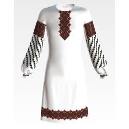 Заготовка дитячого плаття на 9-12 років Мамине благословення для вишивки бісером ПД066кБ40нн
