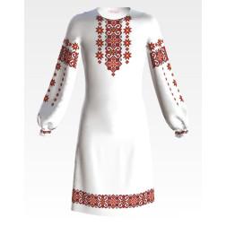 Заготовка дитячого плаття на 9-12 років Елегантність для вишивки бісером ПД072кБ40нн