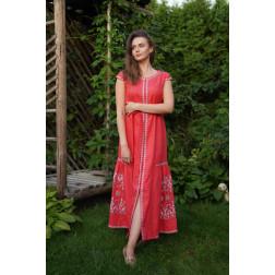 Пошите жіноче плаття – вишиванка БОХО для вишивання нитками Молодіжна ПЕ001лП4207_022_196