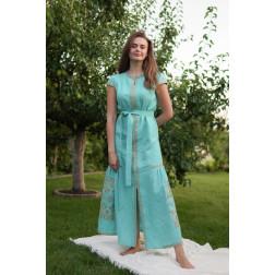 Пошите жіноче плаття – вишиванка БОХО для вишивання нитками Молодіжна ПЕ001лЗ4207_025_205
