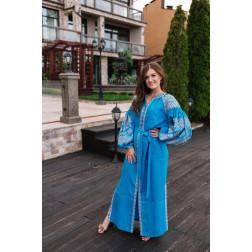 Пошите жіноче плаття – вишиванка БОХО для вишивання нитками Намисто ПЕ003лУ4202_206_164