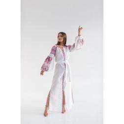 Пошите жіноче плаття – вишиванка БОХО для вишивання нитками Магія ПЕ005лБ4202_054_065