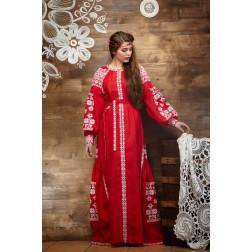 Пошите жіноче плаття – вишиванка БОХО для вишивання нитками Чарівність ПЕ006лР4205_023_001