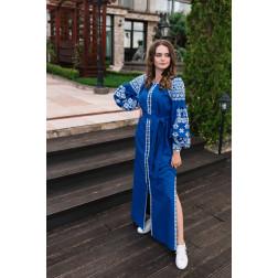 Пошите жіноче плаття – вишиванка БОХО для вишивання нитками Чарівність ПЕ006лУ4202_036_001