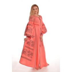 Пошите жіноче плаття – вишиванка БОХО для вишивання нитками Святкова ПЕ008лП4203_021_185