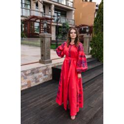 Пошите жіноче плаття – вишиванка БОХО для вишивання нитками Святкова ПЕ008лП4203_022_116
