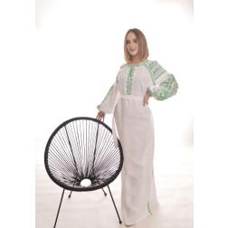 Пошите жіноче плаття – вишиванка БОХО для вишивання нитками Оригінальність ПЕ009лБ4201_054_159
