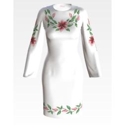 Заготовка жіночого плаття Лілеї для вишивки бісером ПЛ002кБнннн