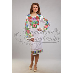 ПЛ006кБннннb Комплект чеського бісеру Preciosa до жіночої сукні, вишиванки