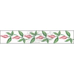 Набір бісеру Preciosa для вишивки бісером до заготовки жіночого пояса – вишиванки Лілеї ПС002пБннннb
