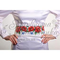 ПС003кБннннb Комплект чеського бісеру Preciosa до  жіночого пояса