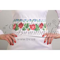 ПС004кБннннb Комплект чеського бісеру Preciosa до  жіночого пояса
