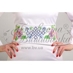 ПС014кБннннb Комплект чеського бісеру Preciosa до  жіночого пояса