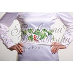 Набір бісеру Preciosa для вишивки бісером до заготовки жіночого пояса – вишиванки Цвіт калини ПС016пБннннb