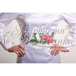 Набір бісеру Preciosa для вишивки бісером до заготовки жіночого пояса – вишиванки Королівські квіти ПС023пБннннb