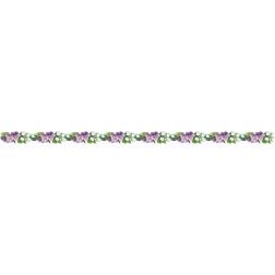 Заготовка жіночого пояса для вишивки бісером Барвиста Вишиванка Ніжні квіти ПС130кБнннн