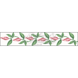Набір ниток DMC для вишивки хрестиком до заготовки жіночої спідниці – вишиванки Лілеї СЖ002дБннннh