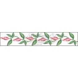 Набір бісеру Preciosa для вишивки бісером до заготовки пошитого клатча Лілеї СЖ002дБннннb