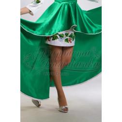Набір ниток DMC для вишивки хрестиком до заготовки жіночої спідниці – вишиванки Цвіт калини СЖ016дБннннh