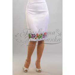 Набір ниток DMC для вишивки хрестиком до заготовки жіночої спідниці – вишиванки Троянди і фіалки СЖ022дБннннh