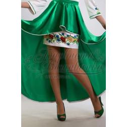 Набір ниток DMC для вишивки хрестиком до заготовки жіночої спідниці – вишиванки Польові квіти СЖ024дБннннh