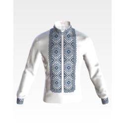 Набір ниток DMC для вишивки хрестиком до заготовки чоловічої сорочки – вишиванки Кучерява безмежність СЧ002пБннннh
