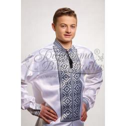 Набір бісеру Preciosa для вишивки бісером до заготовки чоловічої сорочки – вишиванки Жито СЧ006дБннннb