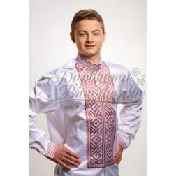 Набір бісеру Preciosa для вишивки бісером до заготовки чоловічої сорочки – вишиванки Жито СЧ009дБннннb