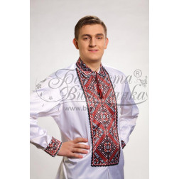 Набір ниток DMC для вишивки хрестиком до заготовки чоловічої сорочки – вишиванки Поділля СЧ010дБннннh