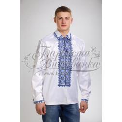 Набір бісеру Preciosa для вишивки бісером до заготовки чоловічої сорочки – вишиванки Ніжність СЧ012дБннннb
