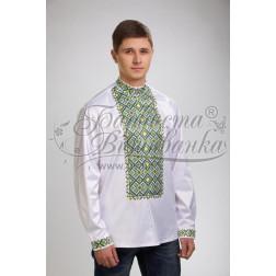 Набір бісеру Preciosa для вишивки бісером до заготовки чоловічої сорочки – вишиванки Жито СЧ013дБннннb