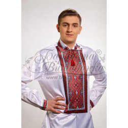 Набір бісеру Preciosa для вишивки бісером до заготовки чоловічої сорочки – вишиванки Вогняна СЧ015дБннннb