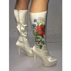 Пошитий чобіток для вишивання бісером ЧБ001кМ3701