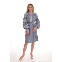 Пошита жіноча туніка – вишиванка БОХО для вишивання нитками Мрія ТЕ002лУ4201_032_001