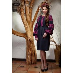 Пошита жіноча туніка – вишиванка БОХО для вишивання нитками Мрія ТЕ002лУ4201_217_019